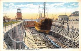 mil051904 - Military Battleship Postcard, Old Vintage Antique Military Ship Post Card