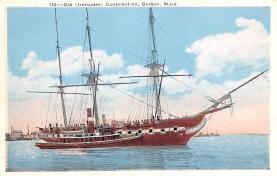 mil051915 - Military Battleship Postcard, Old Vintage Antique Military Ship Post Card
