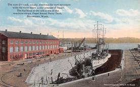 mil051917 - Military Battleship Postcard, Old Vintage Antique Military Ship Post Card