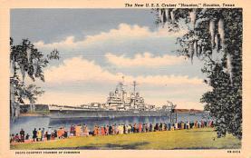 mil051924 - Military Battleship Postcard, Old Vintage Antique Military Ship Post Card