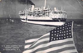 mil051927 - Military Battleship Postcard, Old Vintage Antique Military Ship Post Card