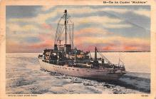 mil051929 - Military Battleship Postcard, Old Vintage Antique Military Ship Post Card