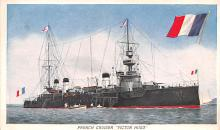mil051942 - Military Battleship Postcard, Old Vintage Antique Military Ship Post Card