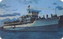 mil051952 - Military Battleship Postcard, Old Vintage Antique Military Ship Post Card