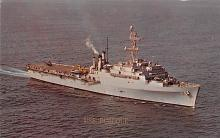 mil051974 - Military Battleship Postcard, Old Vintage Antique Military Ship Post Card