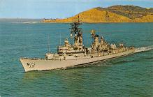mil051976 - Military Battleship Postcard, Old Vintage Antique Military Ship Post Card