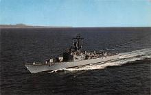 mil051981 - Military Battleship Postcard, Old Vintage Antique Military Ship Post Card