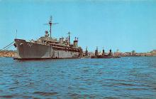 mil051989 - Military Battleship Postcard, Old Vintage Antique Military Ship Post Card