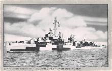 mil051992 - Military Battleship Postcard, Old Vintage Antique Military Ship Post Card