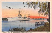 mil051995 - Military Battleship Postcard, Old Vintage Antique Military Ship Post Card
