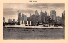 mil052016 - Military Battleship Postcard, Old Vintage Antique Military Ship Post Card