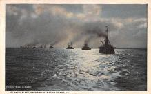 mil052018 - Military Battleship Postcard, Old Vintage Antique Military Ship Post Card