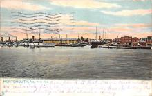 mil052021 - Military Battleship Postcard, Old Vintage Antique Military Ship Post Card