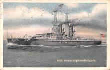 mil052033 - Military Battleship Postcard, Old Vintage Antique Military Ship Post Card