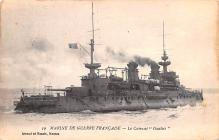mil052049 - Military Battleship Postcard, Old Vintage Antique Military Ship Post Card