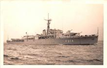 mil052055 - Military Battleship Postcard, Old Vintage Antique Military Ship Post Card
