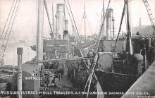 mil052080 - Military Battleship Postcard, Old Vintage Antique Military Ship Post Card