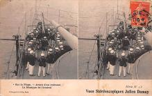mil052081 - Military Battleship Postcard, Old Vintage Antique Military Ship Post Card