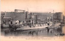 mil052087 - Military Battleship Postcard, Old Vintage Antique Military Ship Post Card