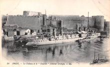 mil052088 - Military Battleship Postcard, Old Vintage Antique Military Ship Post Card