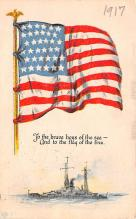 mil052110 - Military Battleship Postcard, Old Vintage Antique Military Ship Post Card
