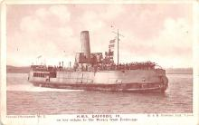 mil052113 - Military Battleship Postcard, Old Vintage Antique Military Ship Post Card