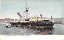 mil052125 - Military Battleship Postcard, Old Vintage Antique Military Ship Post Card