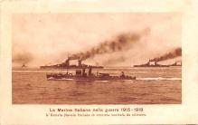 mil052127 - Military Battleship Postcard, Old Vintage Antique Military Ship Post Card
