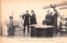 mil052131 - Military Battleship Postcard, Old Vintage Antique Military Ship Post Card