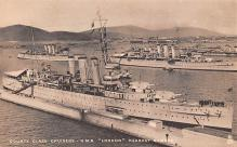 mil052159 - Military Battleship Postcard, Old Vintage Antique Military Ship Post Card