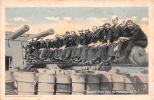 mil052165 - Military Battleship Postcard, Old Vintage Antique Military Ship Post Card