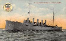 mil052176 - Military Battleship Postcard, Old Vintage Antique Military Ship Post Card