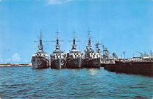 mil052182 - Military Battleship Postcard, Old Vintage Antique Military Ship Post Card
