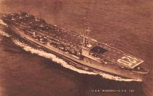 mil052190 - Military Battleship Postcard, Old Vintage Antique Military Ship Post Card