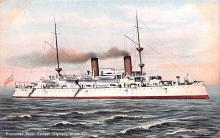 mil052201 - Military Battleship Postcard, Old Vintage Antique Military Ship Post Card