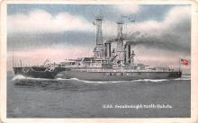 mil052202 - Military Battleship Postcard, Old Vintage Antique Military Ship Post Card