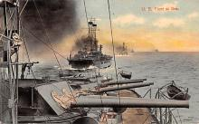 mil052211 - Military Battleship Postcard, Old Vintage Antique Military Ship Post Card