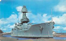 mil052217 - Military Battleship Postcard, Old Vintage Antique Military Ship Post Card