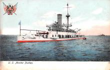 mil052218 - Military Battleship Postcard, Old Vintage Antique Military Ship Post Card