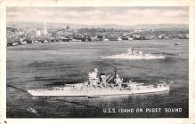 mil052226 - Military Battleship Postcard, Old Vintage Antique Military Ship Post Card