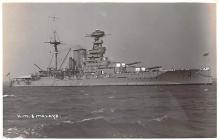 mil052227 - Military Battleship Postcard, Old Vintage Antique Military Ship Post Card