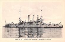 mil052228 - Military Battleship Postcard, Old Vintage Antique Military Ship Post Card