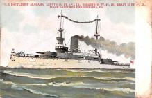 mil052232 - Military Battleship Postcard, Old Vintage Antique Military Ship Post Card