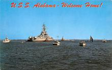 mil052250 - Military Battleship Postcard, Old Vintage Antique Military Ship Post Card