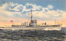 mil052284 - Military Battleship Postcard, Old Vintage Antique Military Ship Post Card