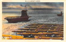 mil052289 - Military Battleship Postcard, Old Vintage Antique Military Ship Post Card