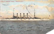 mil052300 - Military Battleship Postcard, Old Vintage Antique Military Ship Post Card