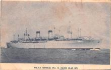 mil052335 - Military Battleship Postcard, Old Vintage Antique Military Ship Post Card