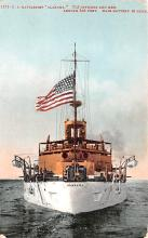 mil052336 - Military Battleship Postcard, Old Vintage Antique Military Ship Post Card