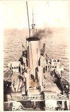 mil052342 - Military Battleship Postcard, Old Vintage Antique Military Ship Post Card